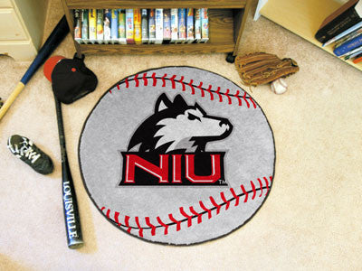 The NIU Huskies Baseball Mat - Fan Mats 148