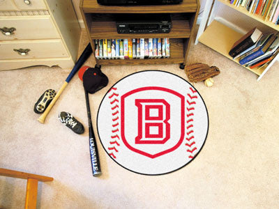 The Bradley Braves Baseball Mat - Fan Mats 324