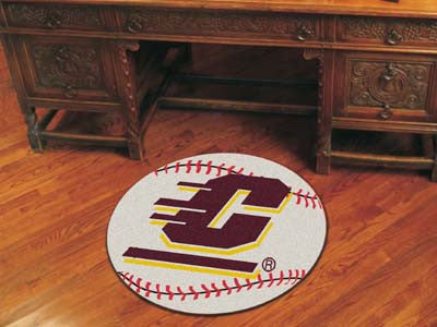 The CMU Chippewas Baseball Mat - Fan Mats 368