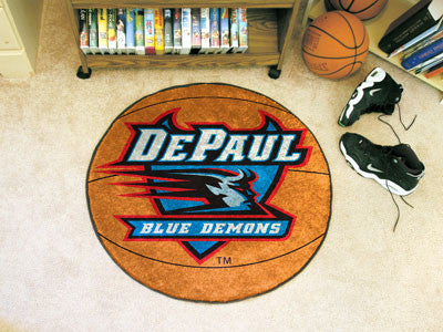The DePaul Blue Demons Basketball Mat - FanMats 431