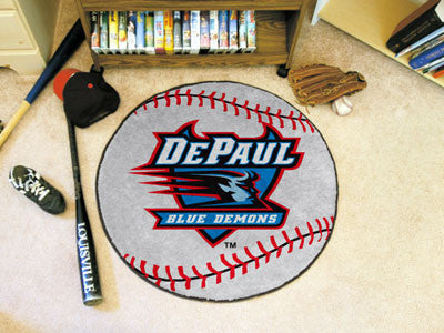 The DePaul Blue Demons Baseball Mat - Fan Mats 432