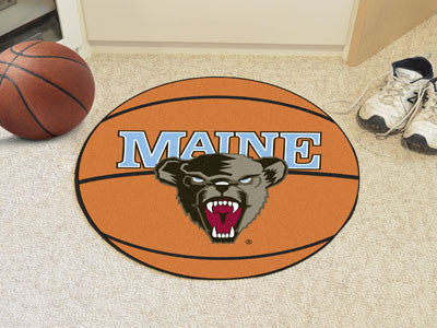 The Maine Black Bears Basketball Mat - FanMats 473