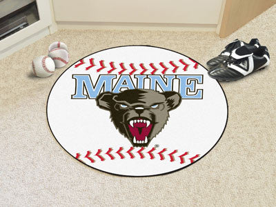 The Maine Black Bears Baseball Mat - Fan Mats 474
