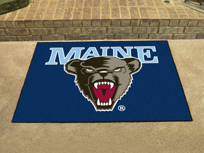 The Maine Black Bears All Star Mat - Fan Mats 476