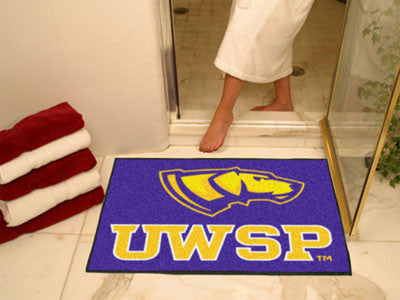 The UWSP Pointers All Star Mat - Fan Mats 575