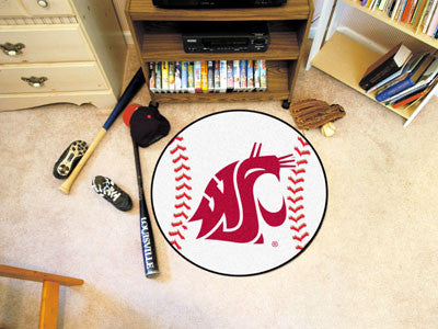 The WSU Cougars Baseball Mat - Fan Mats 627