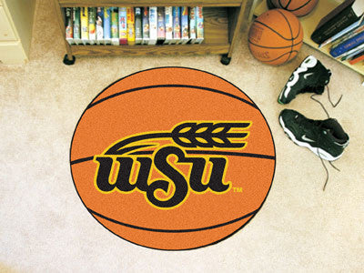 The Wichita State Shockers Basketball Mat - FanMats 680