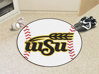 The WVU Shockers Baseball Mat - Fan Mats 681