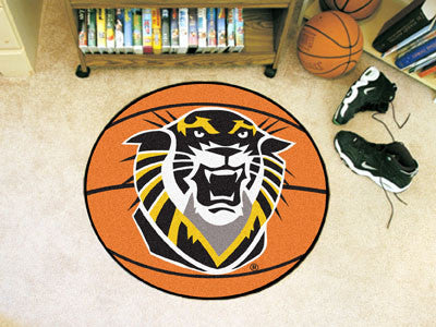 The Fort Hays State Tigers Basketball Mat - FanMats 895
