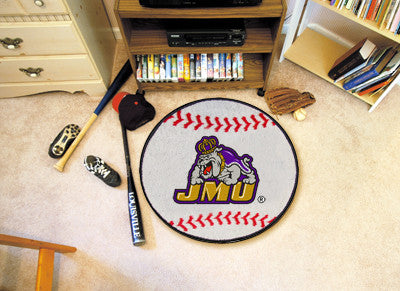 The JMU Dukes Baseball Mat - Fan Mats 966