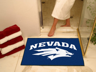 The UNR Wolf Pack All Star Mat - Fan Mats 1006