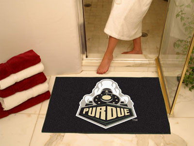 The Purdue  Boilermakers Train Logo All Star Mat - Fan Mats 1077