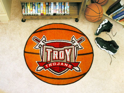 The Troy Trojans Basketball Mat - FanMats 1259