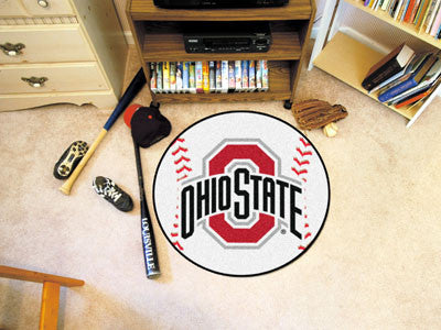 The OSU Buckeyes Baseball Mat - Fan Mats 1519