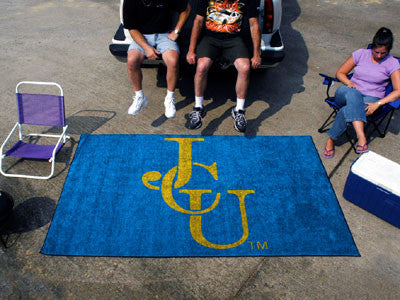 The John Carroll  Blue Streaks Ulti-Mat Tailgating Rug - FanMats 1556