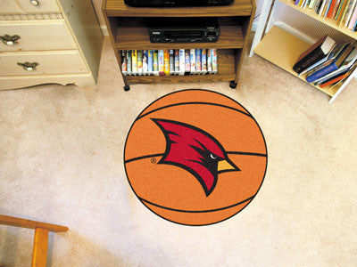 Saginaw Valley State Basketball Mat 26 inch diameter
