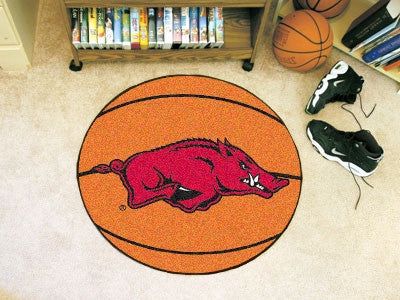 The Arkansas Razorbacks Basketball Mat - FanMats 2128