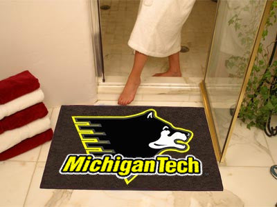 Michigan Tech Huskies All Star Mat - FanMats 2140 MTU Interior Door Mats