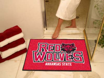 The ASU Red Wolves All Star Mat - Fan Mats 2355