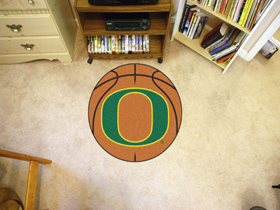 The Oregon Ducks Basketball Mat - FanMats 2360