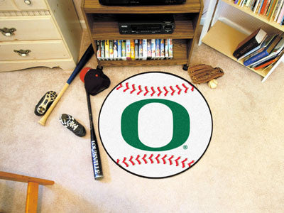 The Oregon Ducks Baseball Mat - Fan Mats 2365