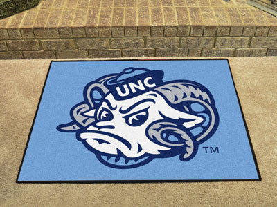 The UNC Tar Heels All Star Mat - Fan Mats 2399