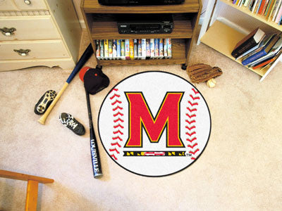 The UM Terrapins Baseball Mat - Fan Mats 2441