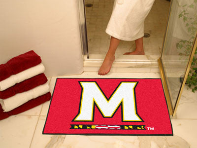 The UM Terrapins All Star Mat - Fan Mats 2444