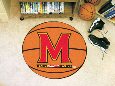 The Maryland Terrapins Basketball Mat - FanMats 2447