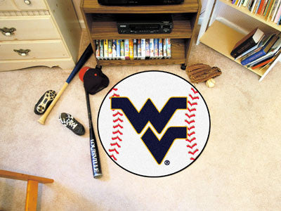 The WVU Mountaineers Baseball Mat - Fan Mats 2459