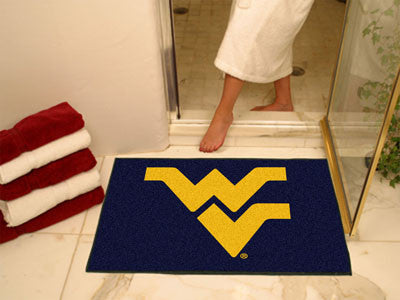 The WVU Mountaineers All Star Mat - Fan Mats 2462