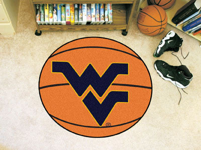 The West Virginia  Mountaineers Basketball Mat - FanMats 2465