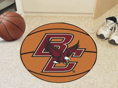 The Boston College Eagles Basketball Mat - FanMats 2663