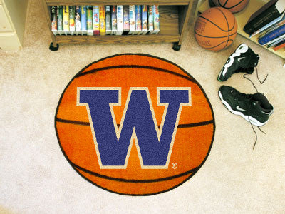 The Washington Huskies Basketball Mat - FanMats 2684