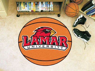 The Lamar  Cardinals Basketball Mat - FanMats 2720