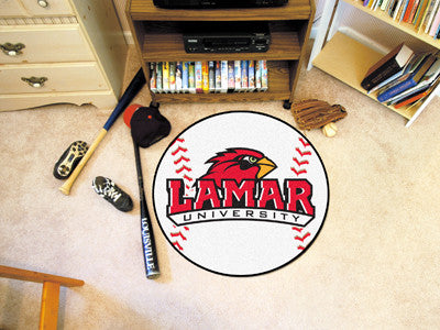 The Lamar  Cardinals Baseball Mat - Fan Mats 2726