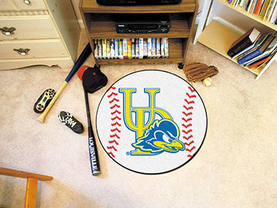 The UD Fightin' Blue Hens Baseball Mat - Fan Mats 2853