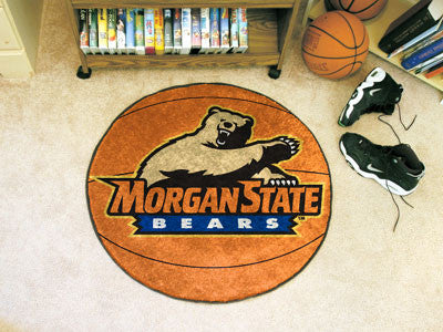 The Morgan State  Bears Basketball Mat - FanMats 2860