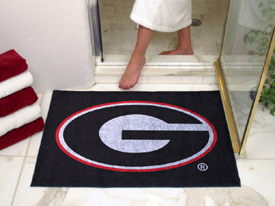 Georgia Bulldogs All Star Mat - FanMats 3018 UGA Interior Door Mats
