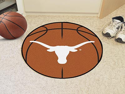 The Texas Longhorns Basketball Mat - FanMats 3171