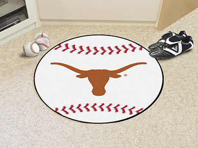 The UT Longhorns Baseball Mat - Fan Mats 3177