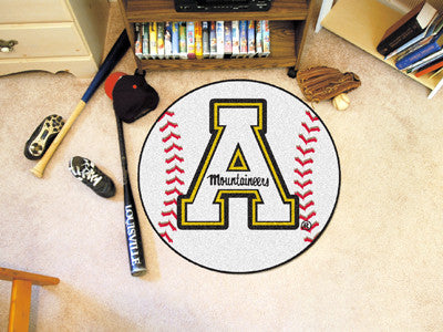 The ASU Mountaineers Baseball Mat - Fan Mats 3196