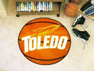 The Toledo Rockets Basketball Mat - FanMats 3346