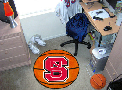 The North Carolina State  Wolfpack Basketball Mat - FanMats 3369