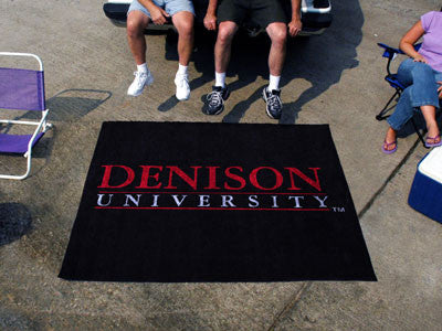 Denison Big Red Tailgater Rug - The FanMats 3552 Tailgating Mat