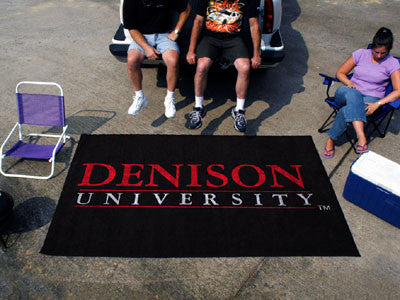 The Denison Big Red Ulti-Mat Tailgating Rug - FanMats 3554