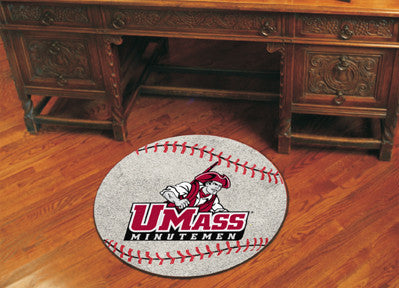 The UMASS Minutemen Baseball Mat - Fan Mats 3684