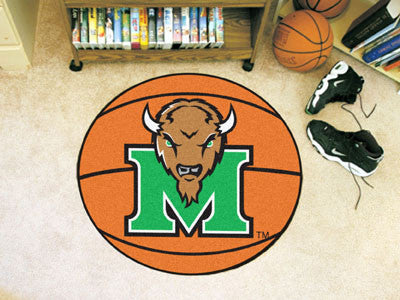 The Marshall  Thundering Herd Basketball Mat - FanMats 3909