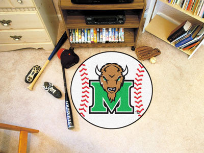 The Marshall  Thundering Herd Baseball Mat - Fan Mats 3913