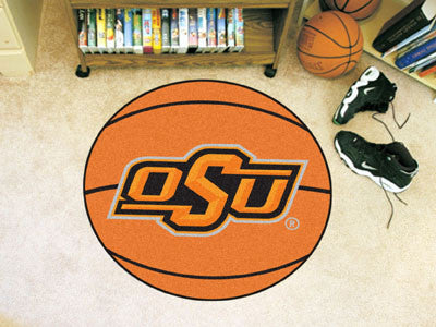 The Oklahoma State  Cowboys Basketball Mat - FanMats 4138